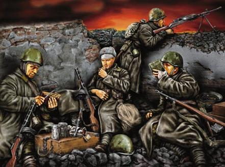 Война практически всегда застает врасплох и сразу же требует много оружия.  А гражданские тылы начинают свой ратный...